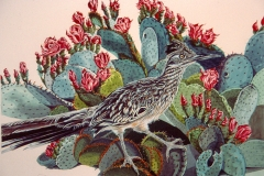 173 - Prickly Perch Roadrunner SOLD