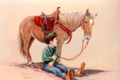 253 - Horse & Welt boy commission