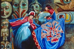 305 Tlingit Dancers $600