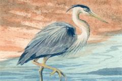 132 - Sandy Bar Heron $225